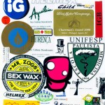 Silk em adesivos diversos Unifesp, Cisv, Ig.
