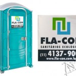 Silk em adesivos para banheiros químicos - Flacon