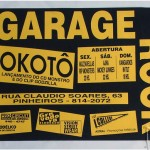 Serigrafia em papel color plus - cartaz Garage Rock
