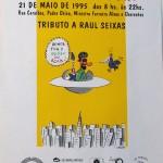 Serigrafia em papel opaline cartaz Feira da Pompéia ilustração Glauco
