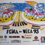 Serigrafia em papel opaline Feira da Vila Madalena 1993