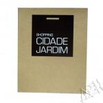 Silk em papel kraft - Shopping Cidade Jardim