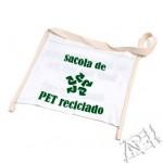 Silk em tecido pet reciclado - Absolutamente Necessaire