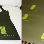 Silk em lona - bolsa-Amata
