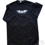 Silk policromia em camiseta - Angels