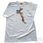 Silk - quadricromia em camiseta