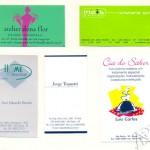 Silk em papéis - cartões de visita