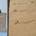 Silk em juta - bolsa Loccitane